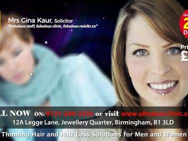 ULTRA Hair Clinic Commercial