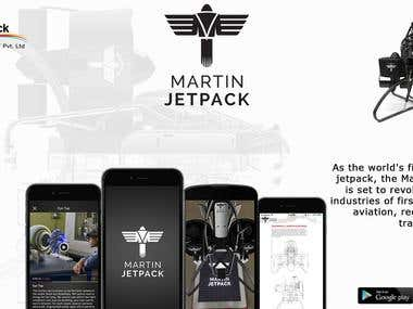 Martin Jetpack Application