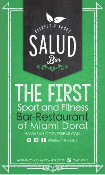 Pendón - Salud Fitness & Sport Bar