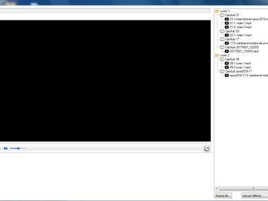 encrypted video player