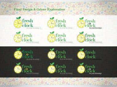 Branding & Identity | FreshO'Clock