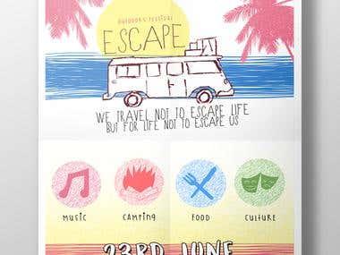 'Escape' Outdoors Festival