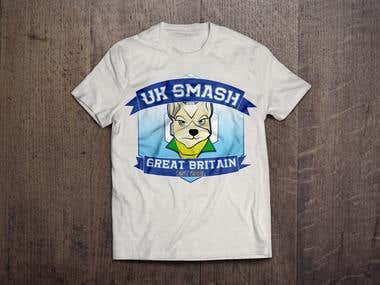SmashHouse UK - T-shirt Branding