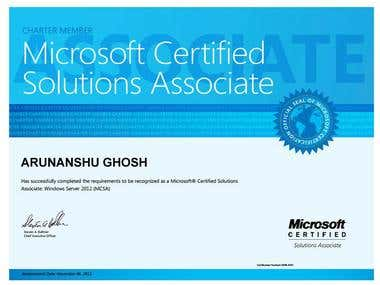 Microsoft Certified Solutions Associate (MCSA) Certification