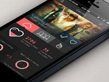Media Sharing App