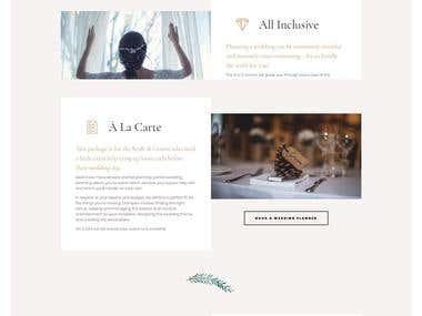North Coast Weddings Wordpress Website