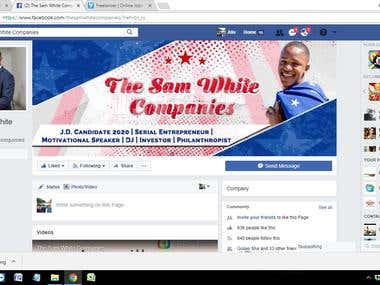 SOCIAL MEDIA MANAGEMENT of THE SAM WHITE COMPANIES.