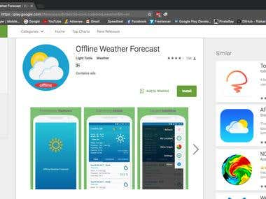 Offline Weather