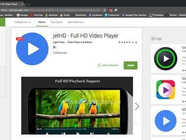 Full HD video Player - Light Weight