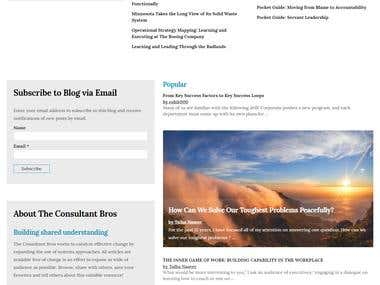 Custom Blog With Real Time User Subscription