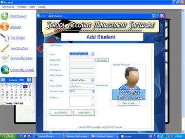 School Account Management Software