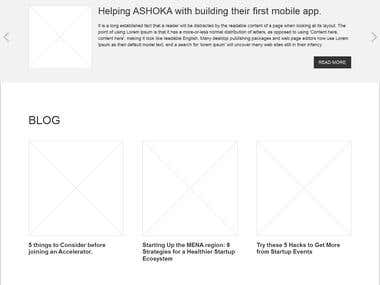 Redesigning The D.GmbH Website