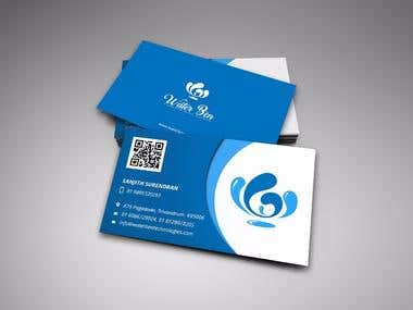 WATER BEN BUSINESS CARD