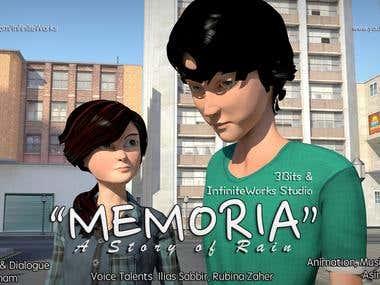 "Animation Project: ""MEMORIA"" [short film]"