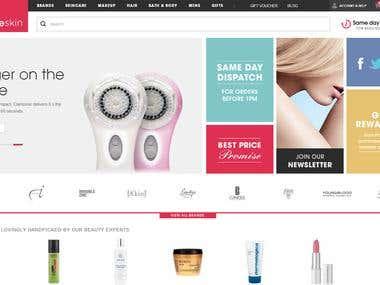 Smart Web Shoping Website Development