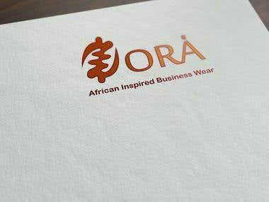 zora Zori logo design
