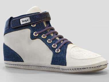 Concept 3d Shoe Design