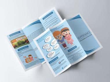 Tri-Fold Brochure Design (Client Works)