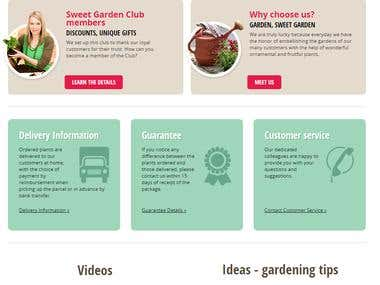 Garden Website