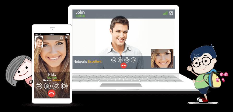 WebRTC video calling website and App development