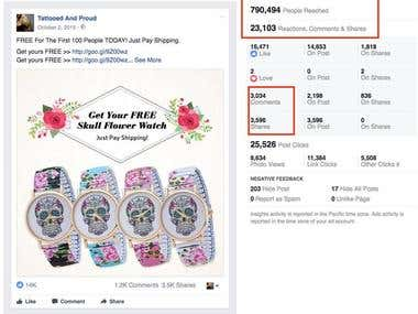 Shopify & Facebook Ads Free+Shipping Offer