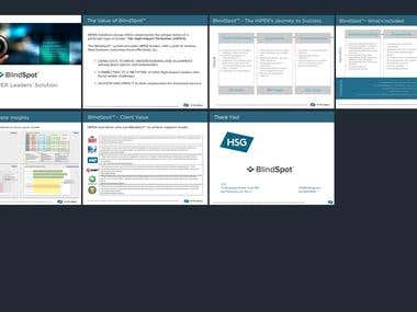 Powerpoint deck - content update/ template design/ branding