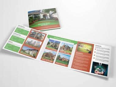 Tri-Fold Brochure Design (Portfolio Work)