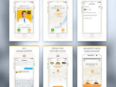 Russian Taxi app like Uber style