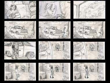 Comic & Story Board