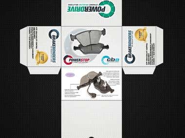 Brake Pads Box Design