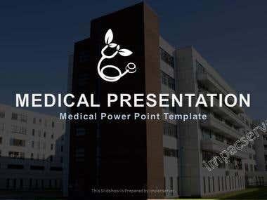 Hosptial | Company Profile Power Point Design Sample