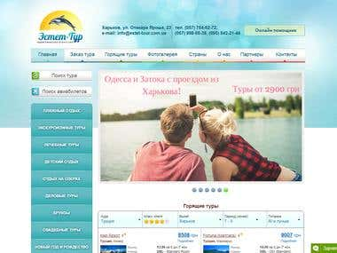 JOOMLA - Travel Agency