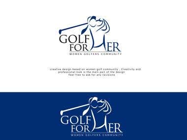 Logo for Golf