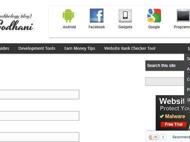 Custom New WordPress Theme