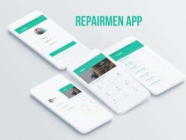 Repairmen Mobile App