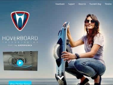 Hoverboard WebApp