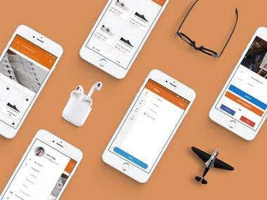 Shopping Signal App