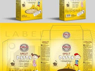 Couscous package design