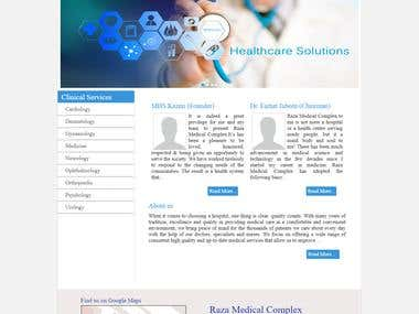 RMC - Medical Website