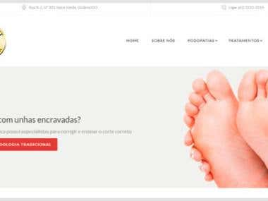 Gold Feet Podologia (Website)