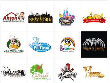Illustrative Logo Design