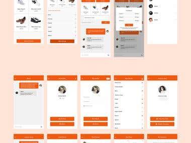 Online Shopping Social App