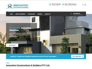 Innovative Construction and Builders Australia