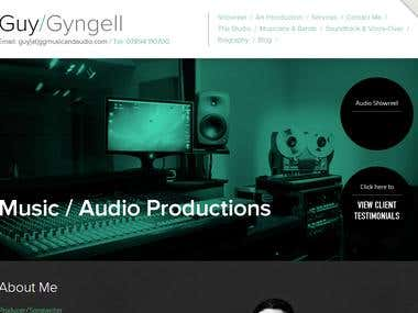 Gyngell, a music producer/songwriter