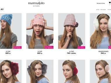 MARMALATO - Online accessories and clothes shop