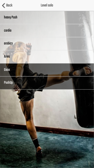 Fitness App (Android App)