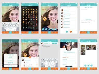 Social Camera & Filters App