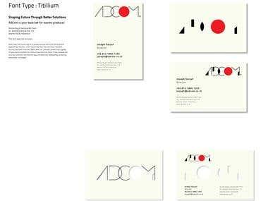 ADCOM Logo & Business Card Design