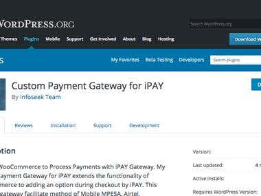 Custom Payment Gateway for iPAY