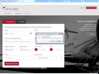 Online Jet Aircraft Booking Website :http://www.aeroiq.com/